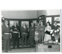 Tentoonstelling door Davidsfonds Oosterzele, bestuur en leden, 1976