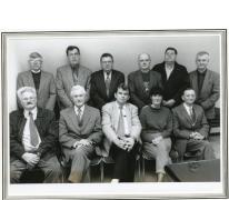 Groepsfoto OCMW-raad, Oosterzele, 1990-1995