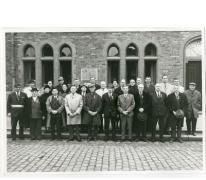 Groepsfoto oud-strijders, Oosterzele, 1969
