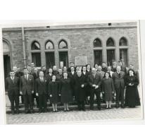 Geestelijken op Roepingsdag, Oosterzele, 1968