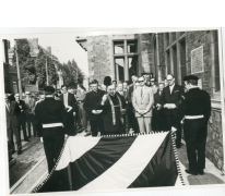 Wijding nieuwe gemeentevlag, Oosterzele, 1969