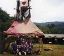 Thematent op kamp chiro Geertrui, Maboge, 2001