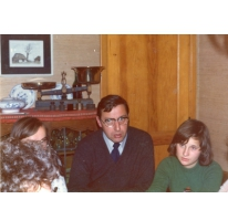 Proost in leiderskring chiro Geertrui, Heusden, 1975-1979
