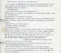 Brief over fietstocht naar Luxemburg, Melle, 1970