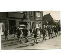 Processie chirojongens, Melle, 1962-1963