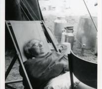 Platte rust kookmoeder Bertje, Ardennen, 1970-1975
