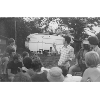 Dopingcontrole chiro Melle op kamp, Frankrijk, 1975
