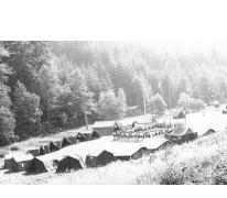 Opening chiro Melle op kamp, Guirsch, 1975