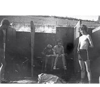 HUDO chiro Melle op kamp in Manderfeld, 1973