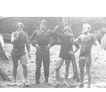 Chiroleiding kerels op kamp, Tenneville, 1979