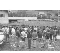 Opening chiro Melle, Tirol, Oostenrijk, 1973