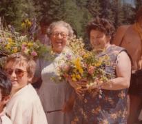 Kookmoeders chiro Melle, Tirol, Oostenrijk, 1977