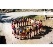 Openingsformatie op kamp in Zuid- Tirol,1977