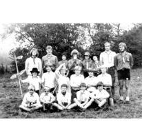 De toppersafdeling op kamp Tenneville, 1979