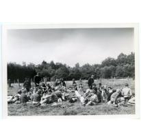 Lunchpauze, Tenneville, 1979.