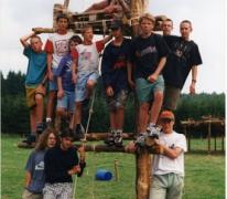 Groepsfoto, Opont, 1999.