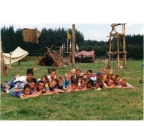 Rakkers op kamp, Opont, 1999.