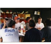 Leiders op kamp, Opont, 1999.
