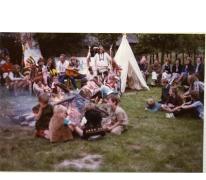 Cowboy en indiaan, mater, 1979.