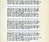 Flyer 'Lees-in' chiro Scheldering, Melle, 1973