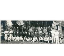 Groepsfoto boerengilde Oosterzele, jaren 1950-1960