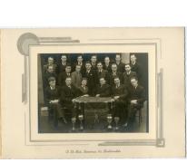 10-jarig bestaan biljartclub, Oosterzele, 1939