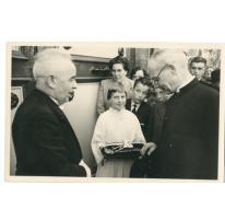 Aanstelling deken Rijckaert, Oosterzele, 1959