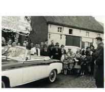 25 jaar burgemeester Jean Van de Velde, openingstoespraak, Landskouter, 1964