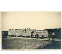 Bevrijdingsstoet na WO II, Lemberge, 1945