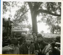 Eten uit gamellen, chiro Melle, 1972