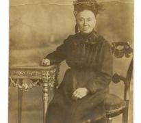 Portret van Leonie De Backer, Balegem