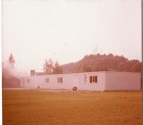 Nieuw chirolokaal chiro Geertui, Melle, 1972
