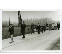 Begrafenis oud-strijder René Van Den Bulcke, Landskouter, 1967
