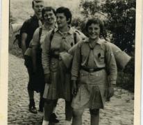 Chiro Melle Geertrui. De familie Neirinck  in Melle, 1964.