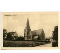 Postkaart kerk Landskouter