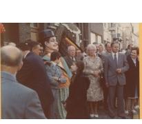 Groepsfoto en Sooike, Destelbergen, 1976