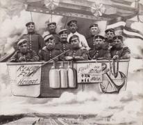 Humoristische postkaart met Duitse soldaten