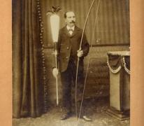 Portret van Gustaaf Gyselinck, Melle, 1905