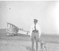 Luitenant Radke, piloot voor een Gotha, Sint-Denijs-Westrem, 1917
