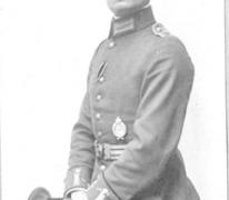 Vliegenier Parschau, 1917