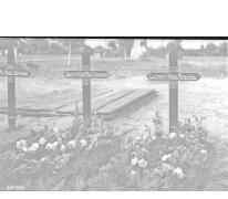 Het graf van Luitenant Parschau, 1917