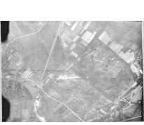 Luchtfoto van het vliegveld van Sint-Denijs-Westrem, 1917.