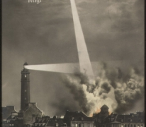 Zeppelinaanval op Calais vanuit Gontrode, 1915