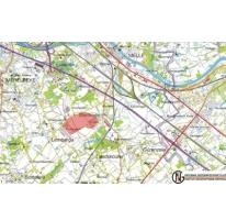 Situering van het vliegveld van Gontrode op de kaart.
