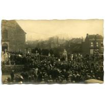 Begrafenis van Zigeunerkoningin, Sint-Lievens-Houtem, 1931