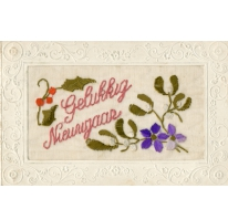 Nieuwjaarskaart, Landskouter, 1920-1940