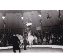 Circus Jhony op Houtem Jaarmarkt, ca. 1960