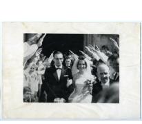 Huwelijk Roger Moens van 'Vlierzele Sportief', Sint-Lievens-Houtem, 1961
