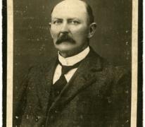 Bidprentje, burgemeester Ernest De Witte, Oosterzele, 1929