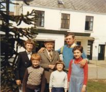 Familie Rahoens, boomkwekers, Oosterzele, jaren 1975-1980